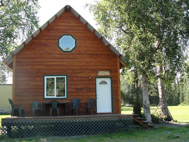 PoppyRidge  Spruce Cabin