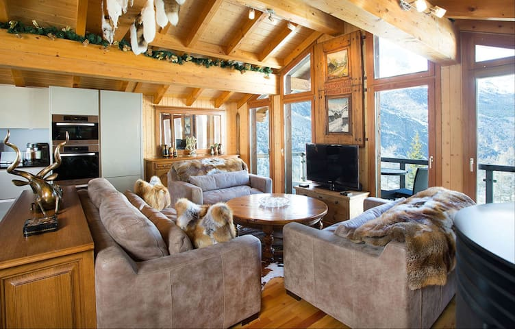 Moutiers chalet for a perfect alpine vacation
