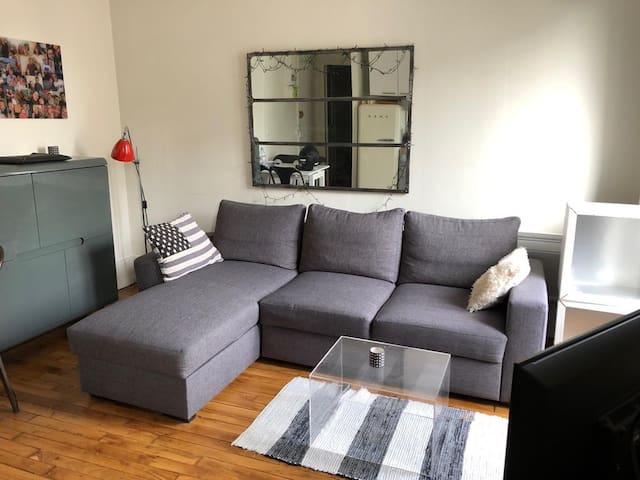 Appartement cosy et lumineux à 15 minutes de Paris
