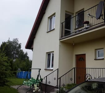 Independent room in green localization in Warsaw - Warszawa - Haus