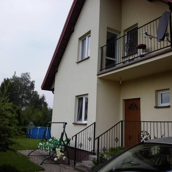 Independent room in green localization in Warsaw
