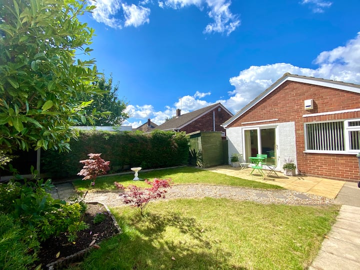 Cosy detached home in peaceful location