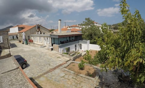 Tradinional Greek villa, Zarakes village