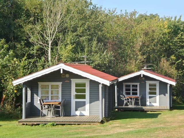 Hyggeligt hytte på Lyngholt Camping - Type F