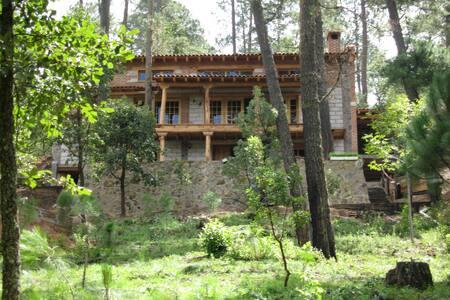 Cabaña en la Sierra de Tapalpa, confort y bosque - Cabin
