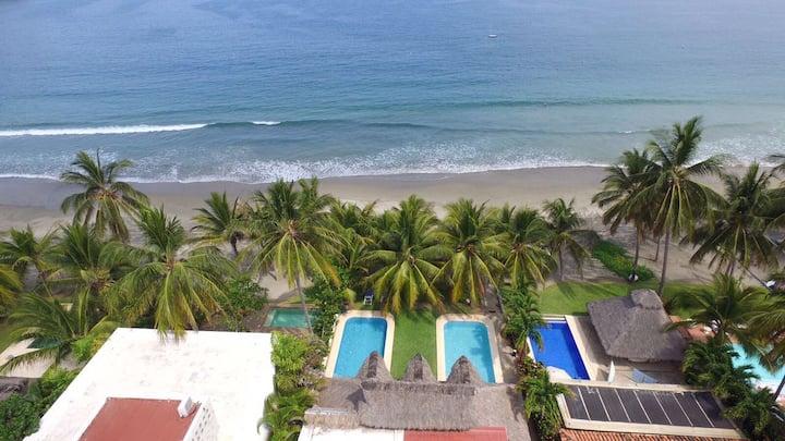 San Juan Alima Beautiful house at a private beach