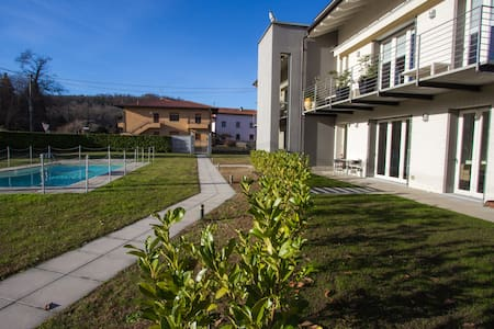 "Boutique apartment with pool ""La dolce vita"" - Leggiuno - Apartamento"