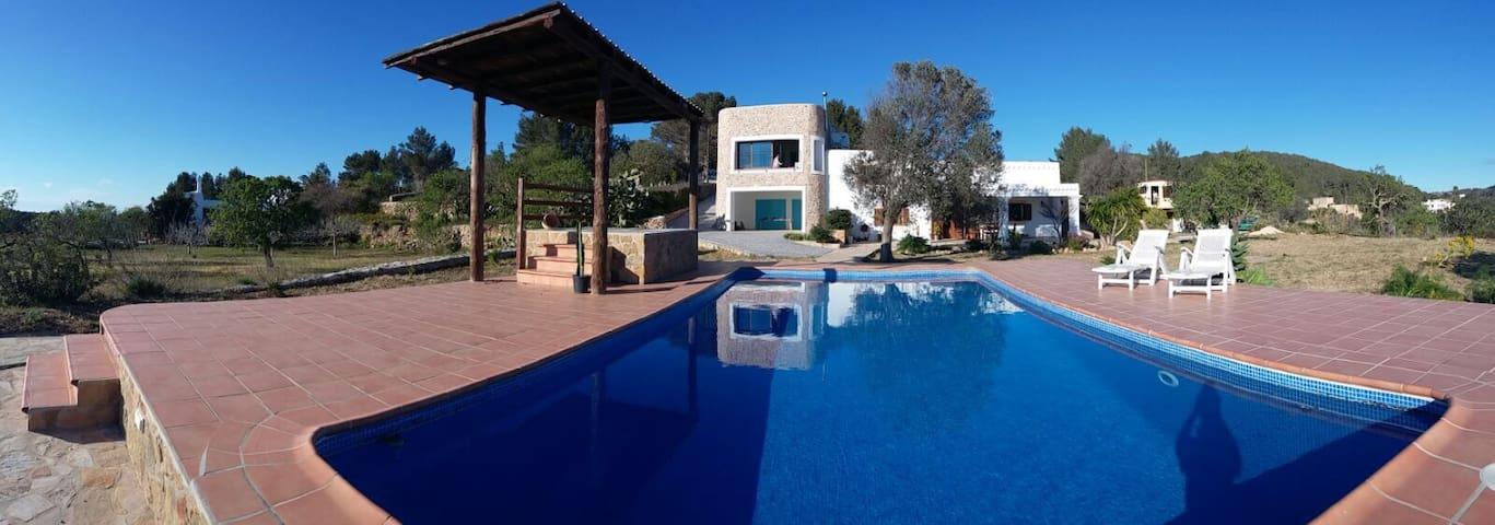 Nice Ibiza Villa Santa Ines 12guest - Santa Agnès de Corona - Haus