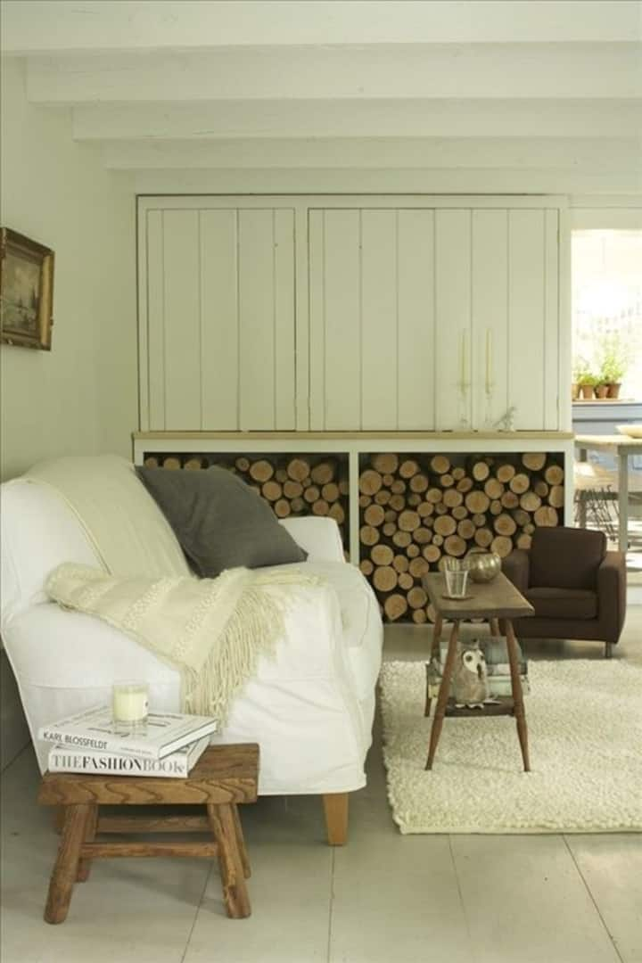 Modern, Simple Cottage as seen in Country Living