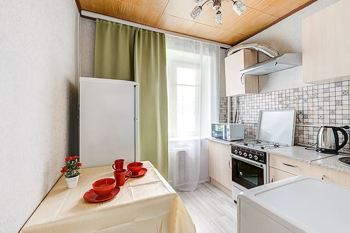 "Apartment near ""Moscow-city"""