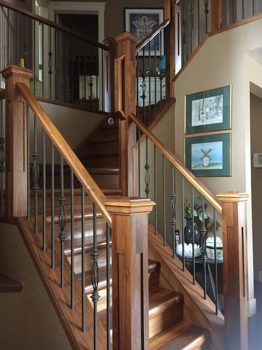 Staircase leading to Rooms
