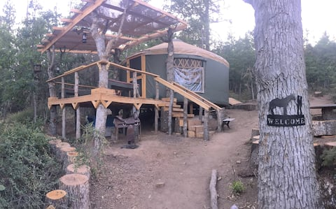 "Yurt Haven - ""The Westerner"" ...Is a Safe Haven!"