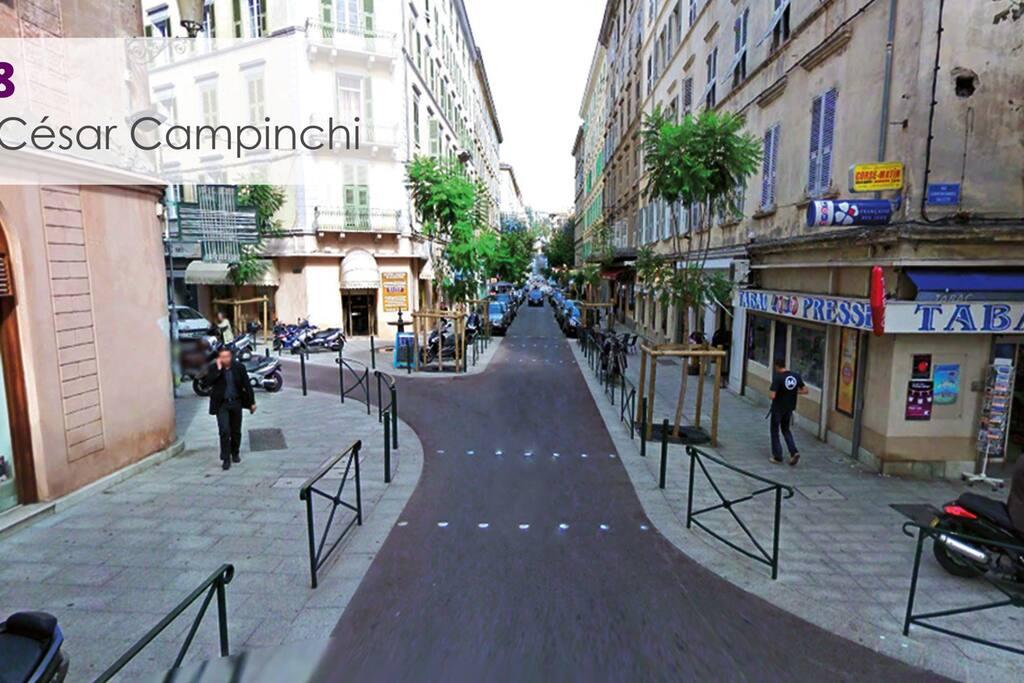 Rue César campinchi