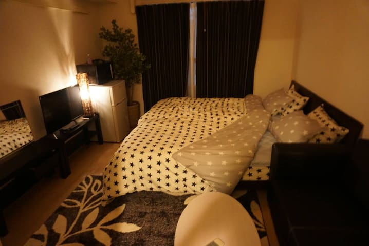 NEWOPEN!Close to Airport,1min to subway#9