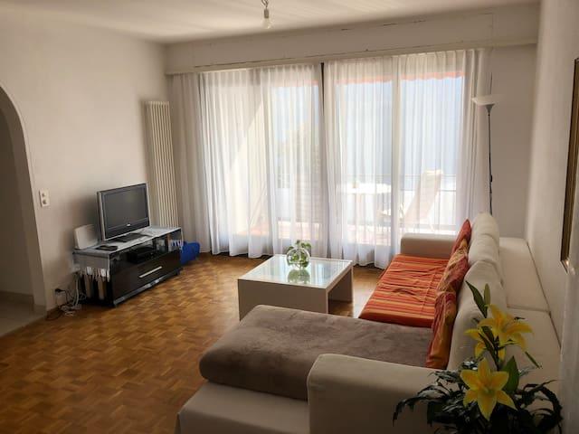 Appartamento 4,5 locali con vista lago