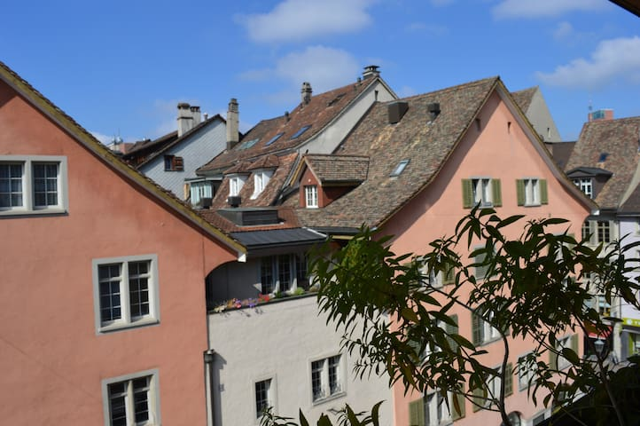 """BnB Adlerhorst"" romantisch, zentral  in Altstadt - Winterthur - Bed & Breakfast"