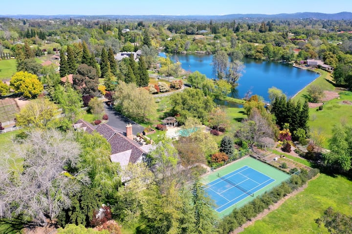 7000 sq ft Estate on Private Lake and 13 acres