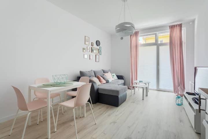 Apartament Kolorowy przy Plaży