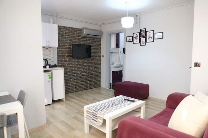 Perfect 1+1 rooms at the Kadıkoy center location