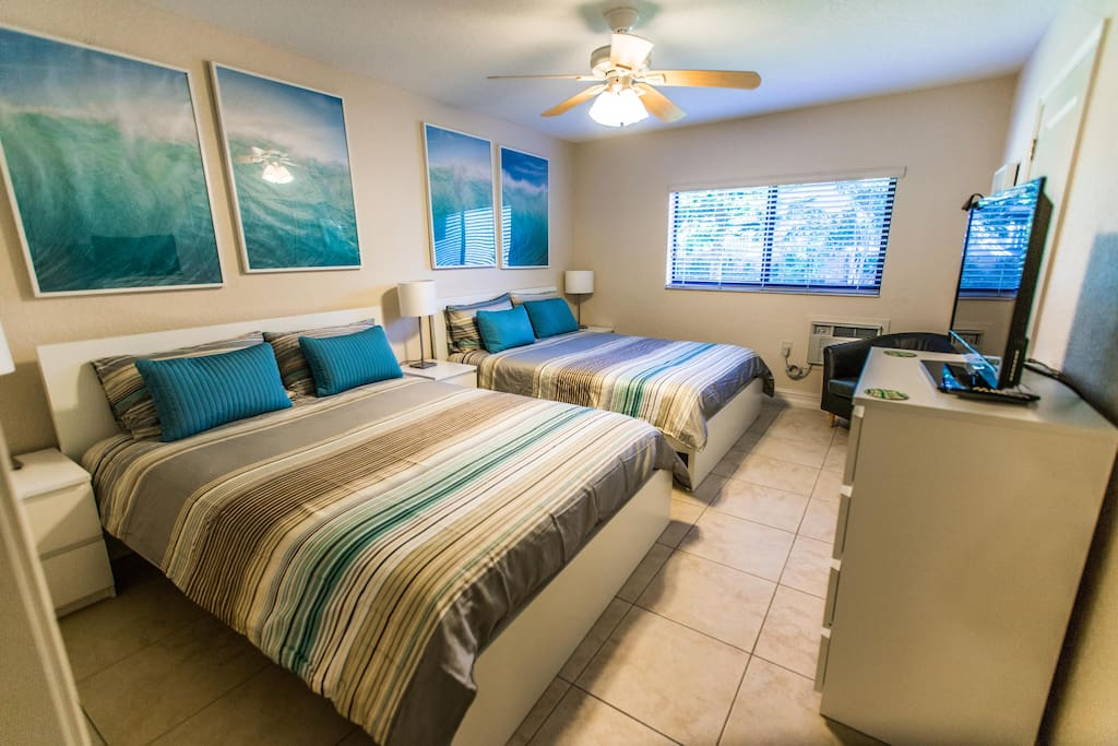 Spacious Deluxe Family Suite Apartments For Rent In Deerfield Beach Florida United States