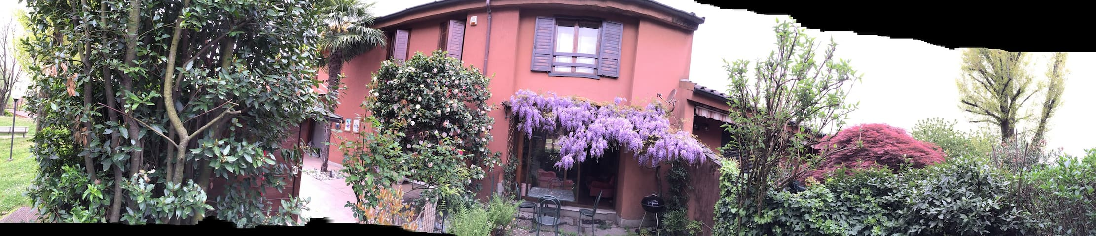 Glycine Villa 30 min from Milan - Arlate - Dom
