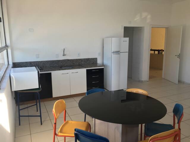 Apto 2Q sala ampla Ingleses - Florianópolis - Apartment