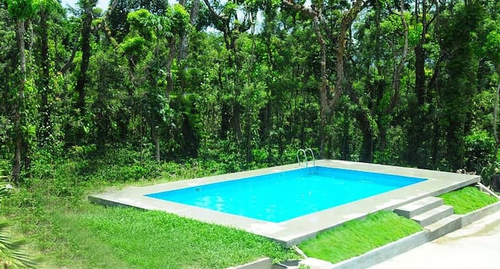 Room in Villa with swimming Pool Kalyan Cool 1 Chikmagalur