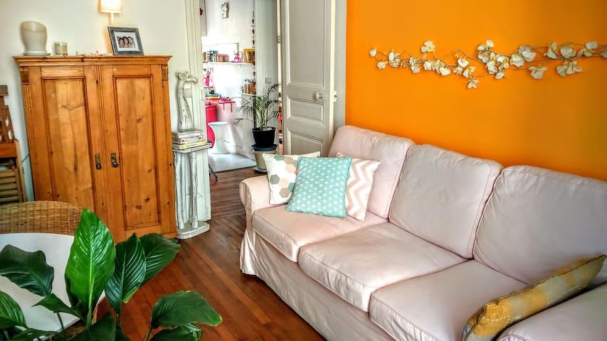 Appartement de charme à Nogent-sur-Marne - Nogent-sur-Marne - อพาร์ทเมนท์