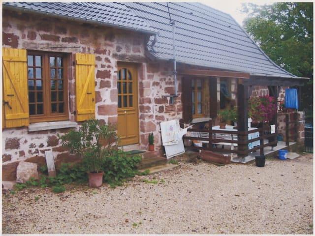 Chambre indépendante dans ferme - Villac - Casa
