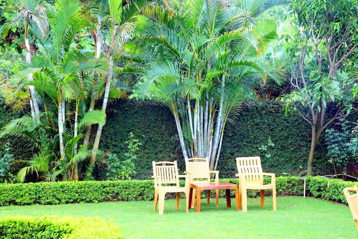 Resort in lap of jungle, at Jim Corbett, Kotabagh