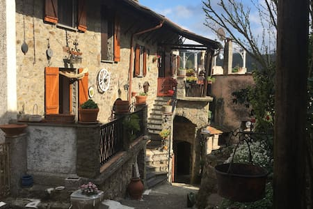 Villa Rodi rural location 30 minutes from Levanto - Bergassana - House