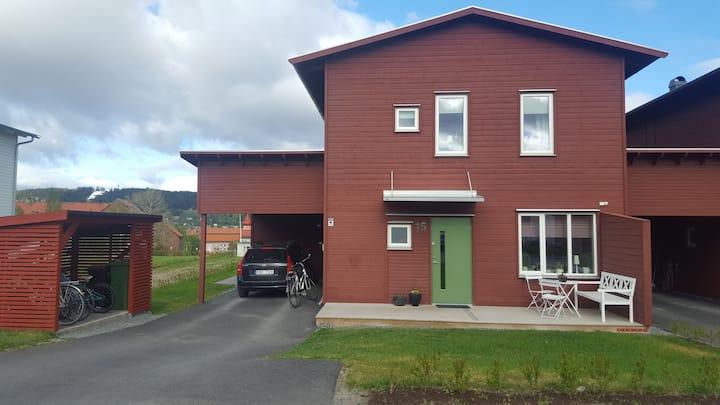 Kedjehus i centrala Östersund