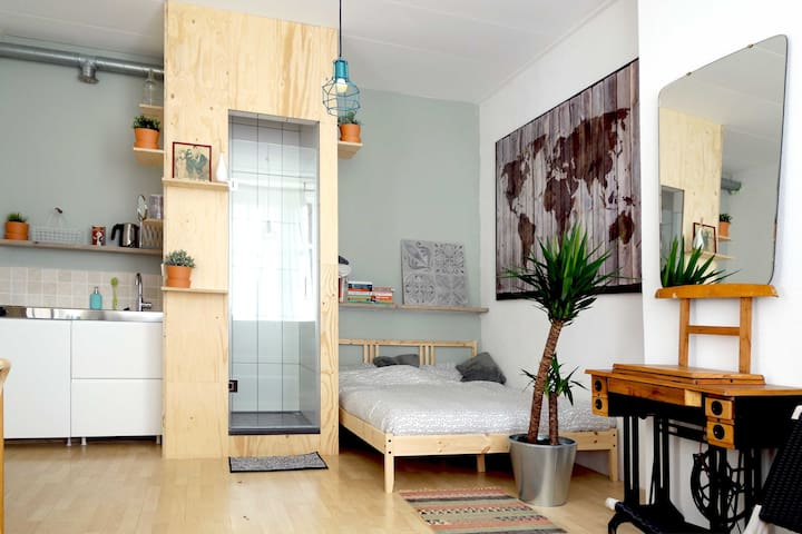 Beautiful studio apartment in central Den Haag - Den Haag