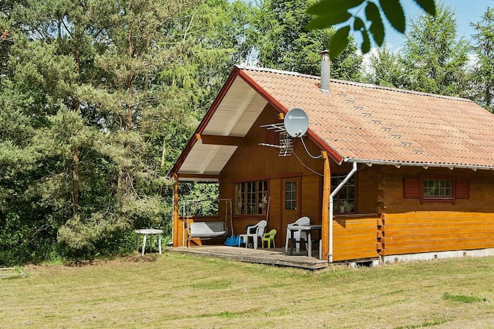 Traditional Holiday Home in Jutland with Terrace