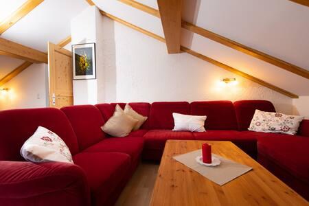 Mittenwald Zuhause mit Bergblick