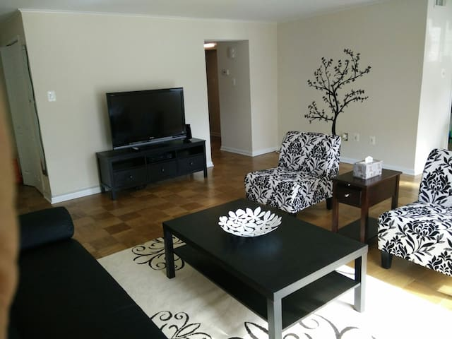 3 min to Metro & lake view - North Bethesda - Wohnung