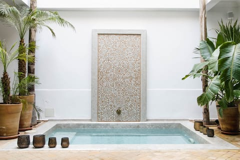 Riad Jaseema Marrakech - a private oasis with pool