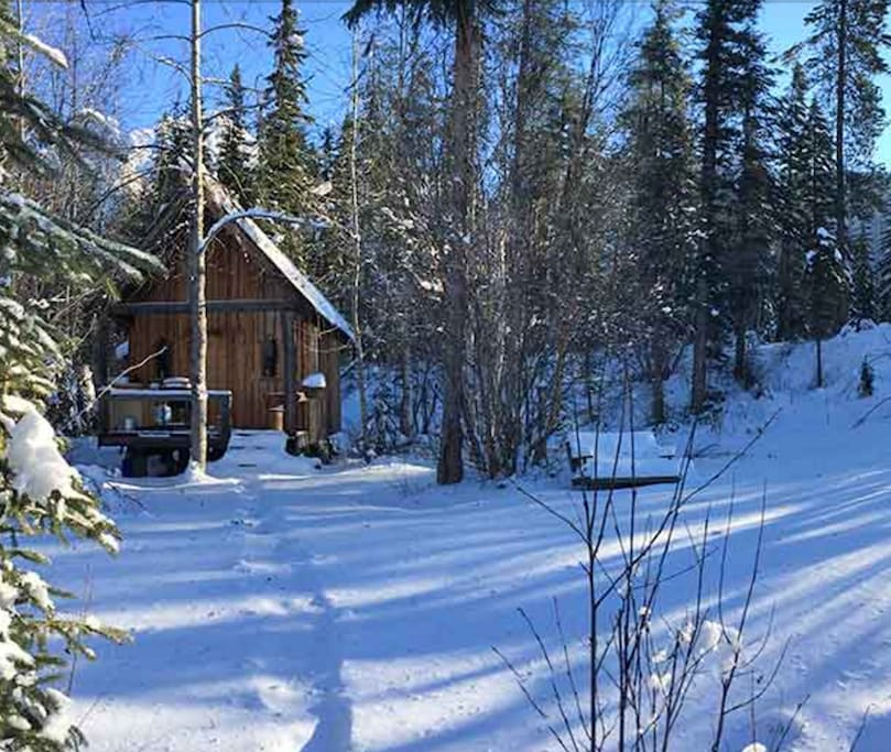 Cabin By the Creek with sauna.