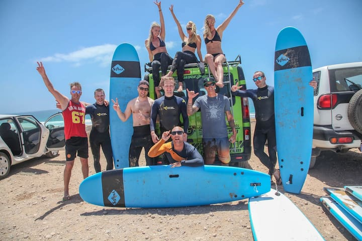 Great and Fun surflessons with great instructors