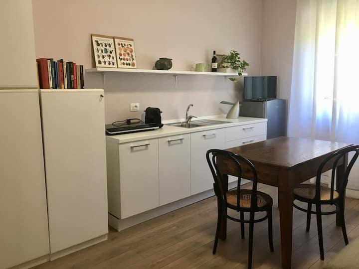 Appartamento con vista a Ponzano Monferrato