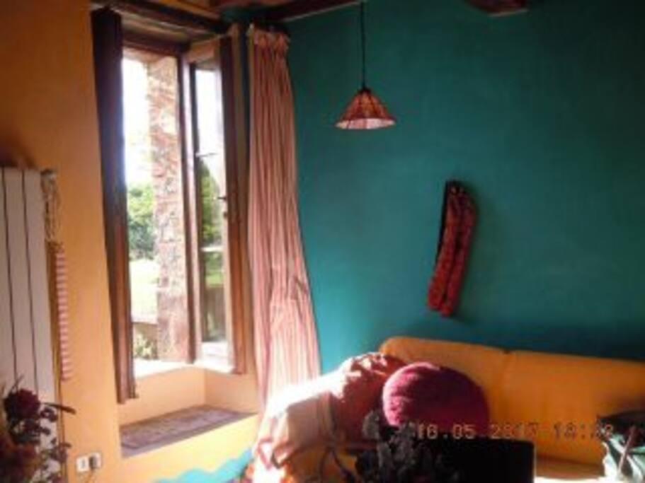 soggiorno apertura ovest. nuovi colori
