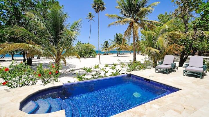 Beachfront, Private Pool In Tranquil Eco Resort