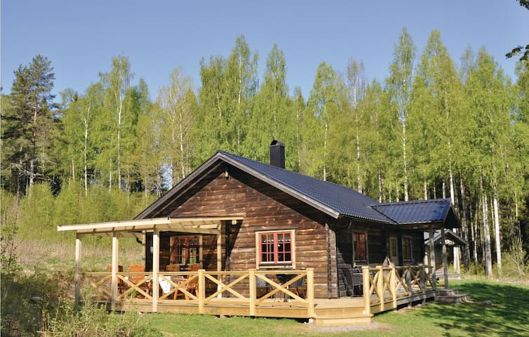 Holiday cottage with 1 bedroom on 102m² in Långserud