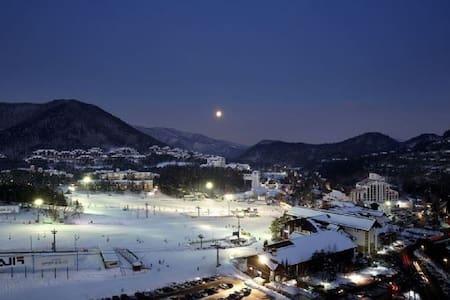 Alpine chalet with modern touches - Daegwalnyeong-myeon, Pyeongchang-gun - Apartemen