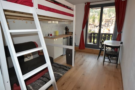 Bright and Cosy Chamonix Sud Studio - Chamonix-Mont-Blanc - Apartment