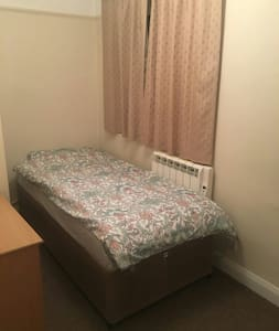 Cosy Single room in beautiful flat - Walton-on-Thames - Daire