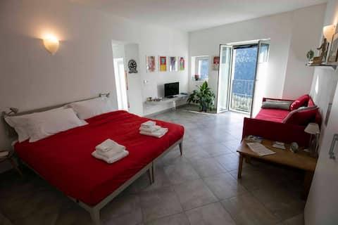 Splendido appartamento con vista panoramica a Vene