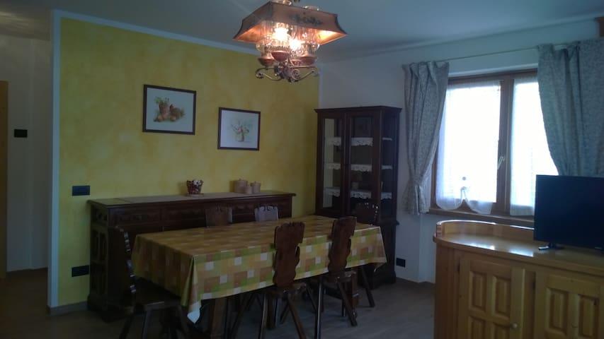 Nuovo appartamento con giardino a Bormio - Bormio - Hus