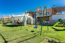 Playground available for our little guests to enjoy!