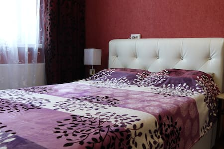 Room for 1-2 people with a kitchenette, TV, Wi-Fi - Tomsk